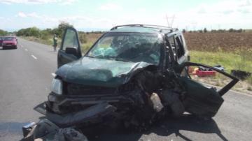 Две верижни катастрофи в Пловдивско