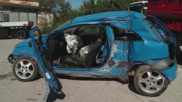 Шофьорът на катастрофиралия в Пловдив автомобил е бил с 1,55 промила алкохол