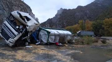 Серия от катастрофи в първия дъждовен ден тази есен