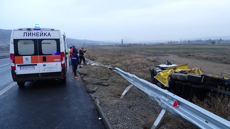 Не са допуснати сериозни инциденти по пътищата в страната след