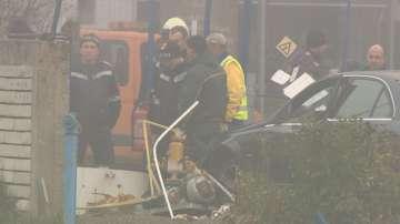 Кола се вряза в резервоар за газ на бензиностанция в София
