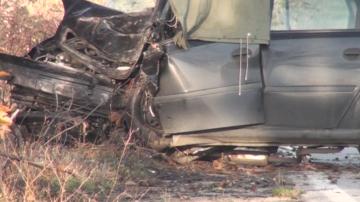 Двама души загинаха при две тежки катастрофи в Пловдивско