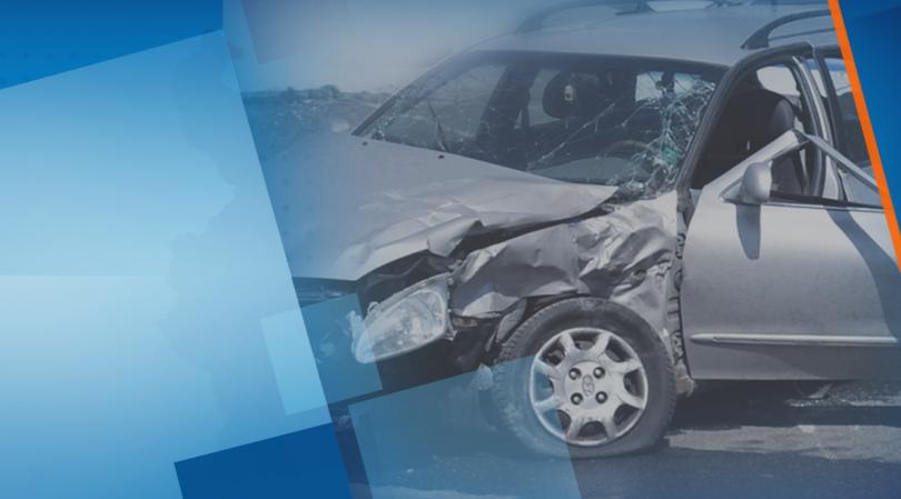 Лек автомобил катастрофира тази нощ на оживено кръстовище във Враца,
