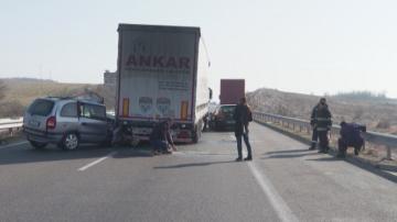 Пет души пострадаха при верижна катастрофа на автомагистрала Марица