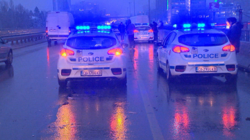 Верижна катастрофа с 20 коли на Цариградско шосе