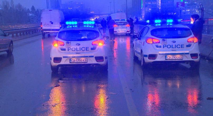 Снимка: Верижна катастрофа с 20 коли на Цариградско шосе