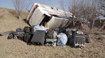 Автобус с български учители катастрофира в Македония