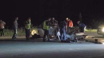 Двама души загинаха при тежка катастрофа край Мъглиж