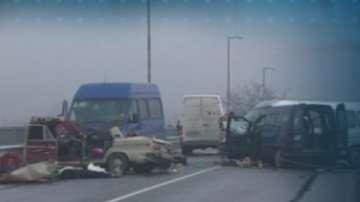Прокуратурата започва разследване на катастрофата край Пазарджик