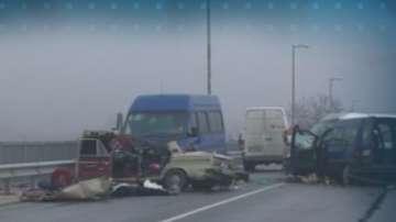 Неопесъчен път е една от версиите за катастрофата с пет жертви край Пазарджик