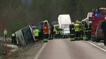 Трима загинали и 56 ранени след катастрофата с ученици в Швеция