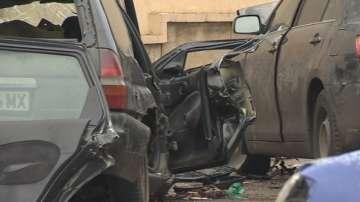Тежка катастрофа на бул. Симеоновско шосе в София
