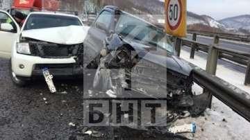 Шестима ранени при верижна катастрофа на АМ Хемус