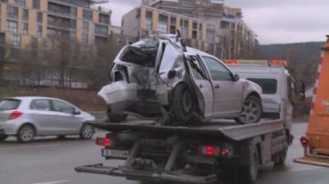 Поредна катастрофа с млад шофьор във Варна