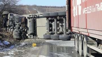 Двама загинали при катастрофа на пътя между Монтана и Видин