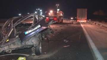 Мъж загина след тежка катастрофа между ТИР и лек автомобил