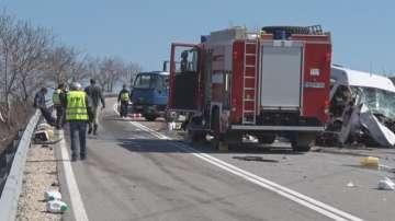 3-ма души загинаха при две катастрофи в Шуменско
