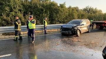 Катастрофа затруднява движението по Тракия след Пловдив