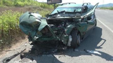 Две катастрофи на пътя Созопол - Приморско в последното денонощие