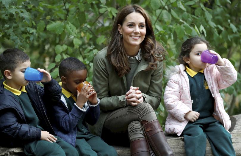 След 6-месечен отпуск по майчинство херцогинята на Кеймбридж се върна