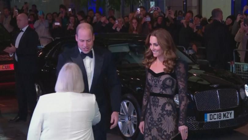 Херцогинята на Кеймбридж Катрин впечатли с тоалет. Заедно със съпруга