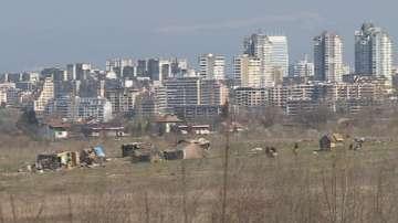 Ромски катун край Околовръстното в София непрекъснато се разраства