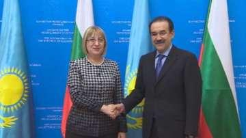 България и Казахстан затоплиха още повече отношенията си
