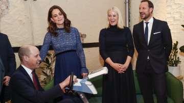 Кейт и Уилям на посещение в Норвегия