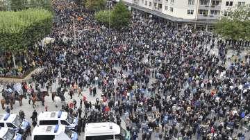 В германския град Кемниц: Протести и контрапротести за мигрантската политика