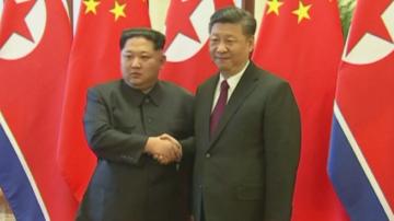 Севернокорейският лидер Ким Чен-ун се срещна със Си Дзинпин