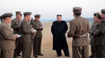 Ким Чен-ун е наблюдавал изпитанието на високотехнологично оръжие