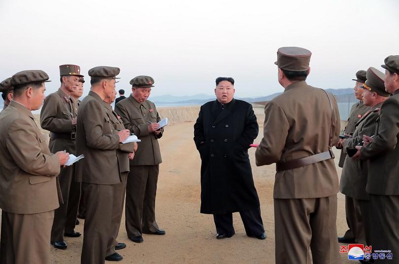 Севернокорейският лидер Ким Чен-ун е наблюдавал изпитанието на ново високотехнологично