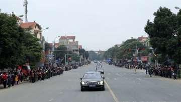 Ким Чен-ун пристигна във Виетнам за срещата с Тръмп