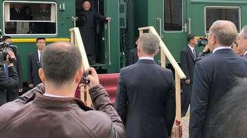 Ким Чен-ун пристигна с частния си влак в Русия за срещата с Путин