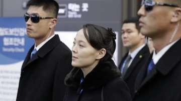 Сестрата на севернокорейския лидер пристигна в Южна Корея