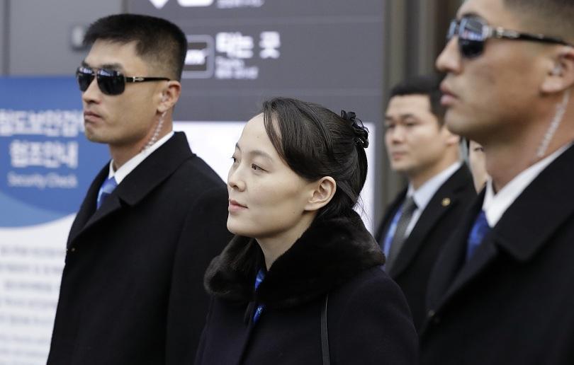 Ким Йо-чен е в официалната делегация на Пхенян, която ще