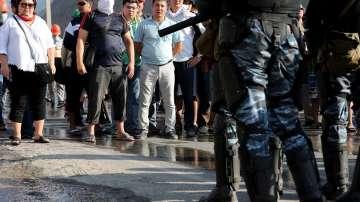 Сблъсъци в Киргизстан след ареста на бившия президент