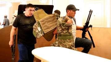 Нова атака срещу резиденцията на бившия президент Алмазбек Атамбаев