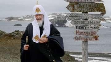 Патриарх Кирил отслужи литургия в руската полярна станция на Антарктида