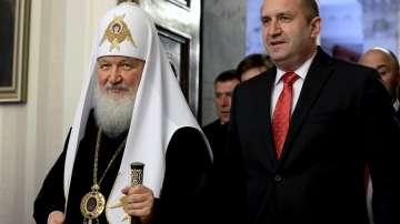 Светият Синод разясни какво са говорили руският патриарх и президентът Радев