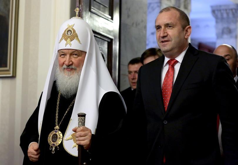 румен радев българският руският народ свързани дълбоки духовни връзки