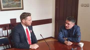 Министър Кирилов и Джок Полфрийман обсъдиха проблемите в затворите