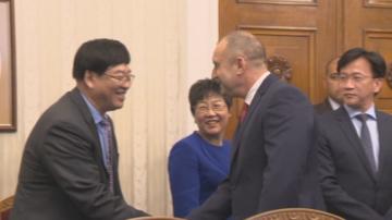 Президентът Румен Радев се срещна с китайска делегация у нас