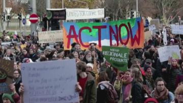 Масови протести срещу климатичните промени