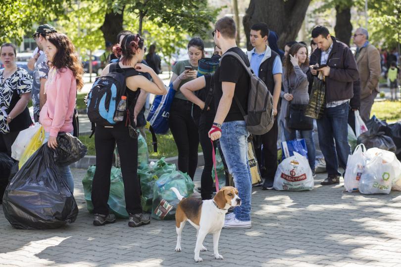 Жителите на Пловдив отчетоха най-добър резултат.Повече от 11,5 тона пластмасови