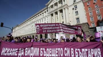 Протестът на КНБС поиска по-високи заплати