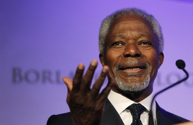 Гана обяви едноседмичен траур за Кофи Анан, световни лидери почетоха паметта му