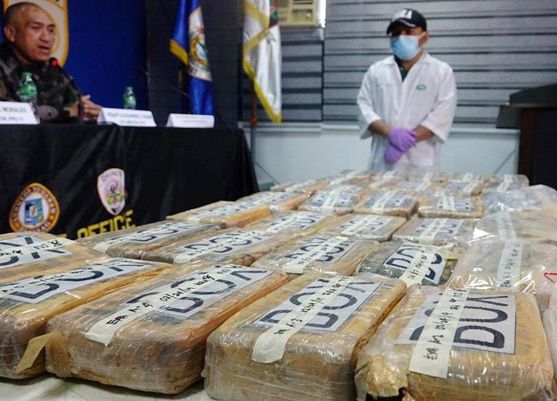 През последните два месеца американската брегова охрана е заловила наркотици