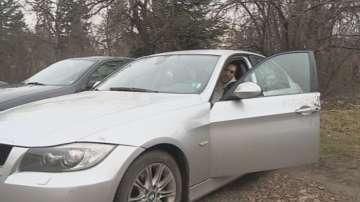 Мъж предотврати кражба на автомобила си като във филм