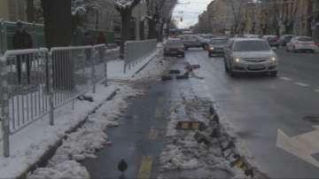 Фирмата, която повреди ограждения на велоалея на бул.Дондуков, ще бъде глобена